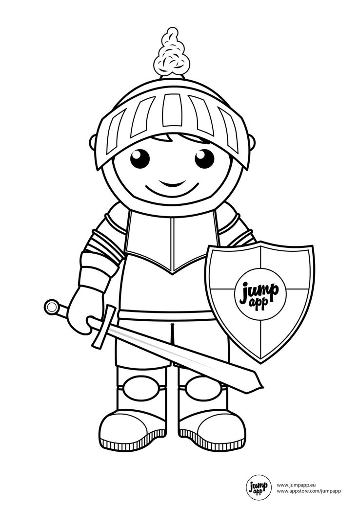 coloring pages of a conquistador - photo#31